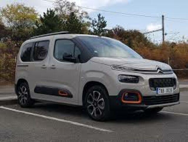 Citroën Berlingo test skladovky
